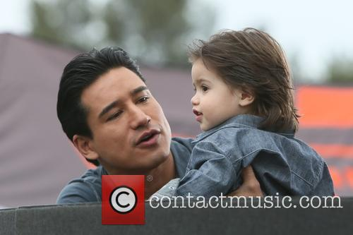Mario Lopez and Dominic Lopez 1