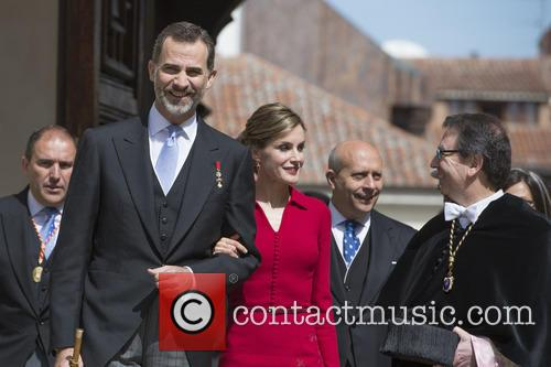 Miguel, Spain's King Felipe Vi and Queen Letizia 2
