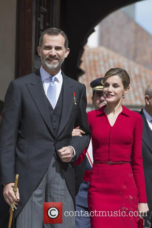 Miguel, Spain's King Felipe Vi and Queen Letizia 3