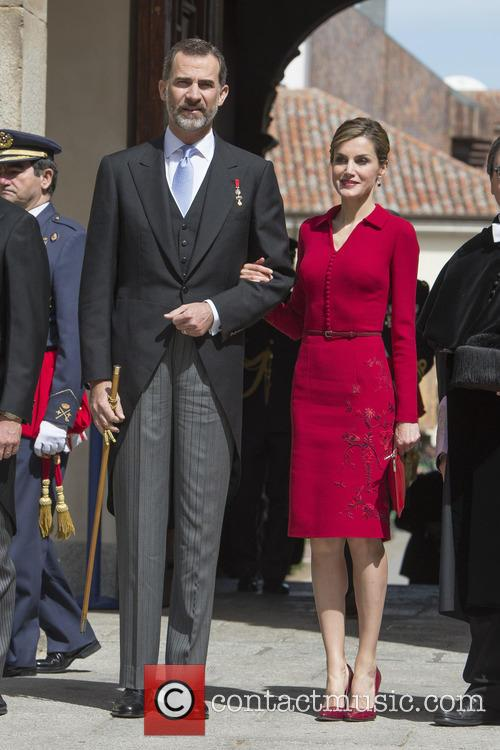 Miguel, Spain's King Felipe Vi and Queen Letizia 4