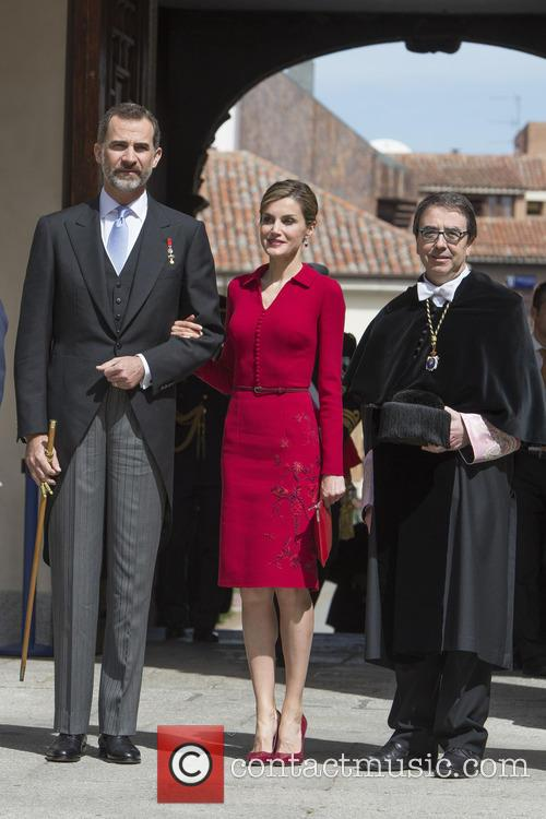 Miguel, Spain's King Felipe Vi and Queen Letizia 5
