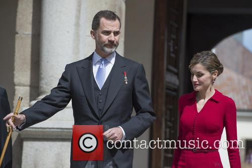 Miguel, Spain's King Felipe Vi and Queen Letizia 6