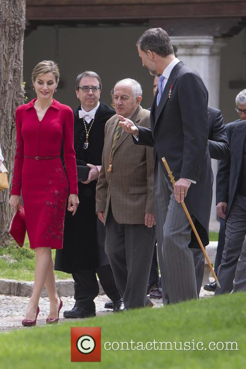 Miguel, Spain's King Felipe Vi and Queen Letizia 9