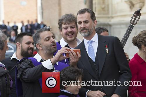 King Felipe VI and Queen Letizia present the...
