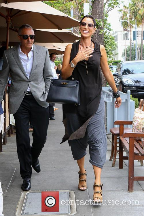Nicole Murphy goes for lunch in Beverly Hills
