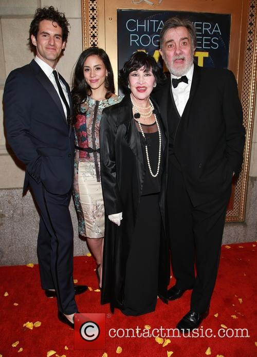 John Riddle, Michelle Veintimilla, Chita Rivera and Roger Rees 6