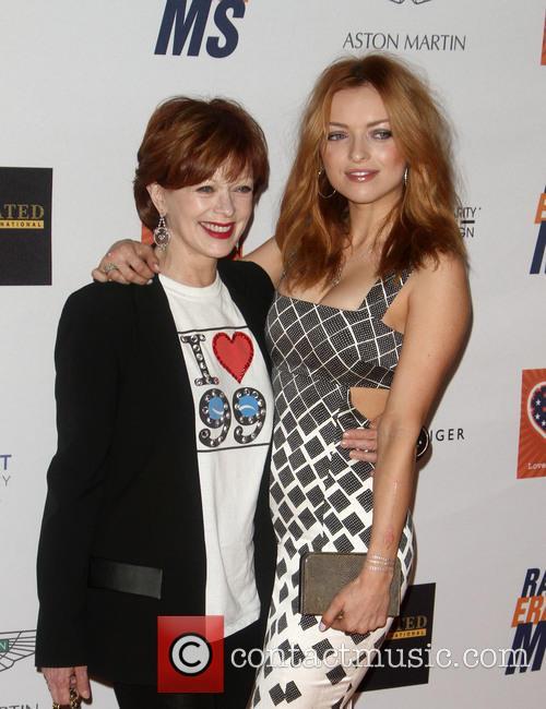 Frances Fisher and Francesca Eastwood 1