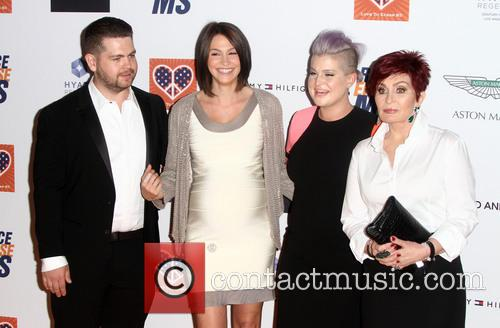 Jack Osbourne, Lisa Stelly, Kelly Osbourne and Sharon Osbourne 2