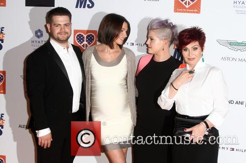 Jack Osbourne, Lisa Stelly, Kelly Osbourne and Sharon Osbourne 1
