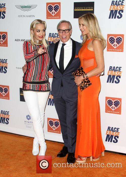 Rita Ora, Tommy Hilfiger and Dee Ocleppo 4