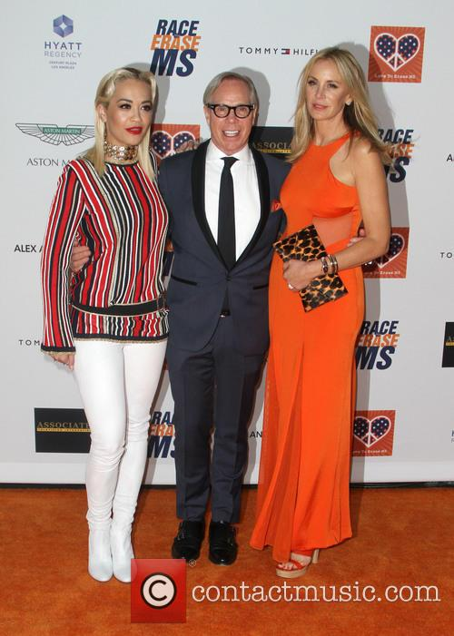 Rita Ora, Tommy Hilfiger and Dee Ocleppo 6