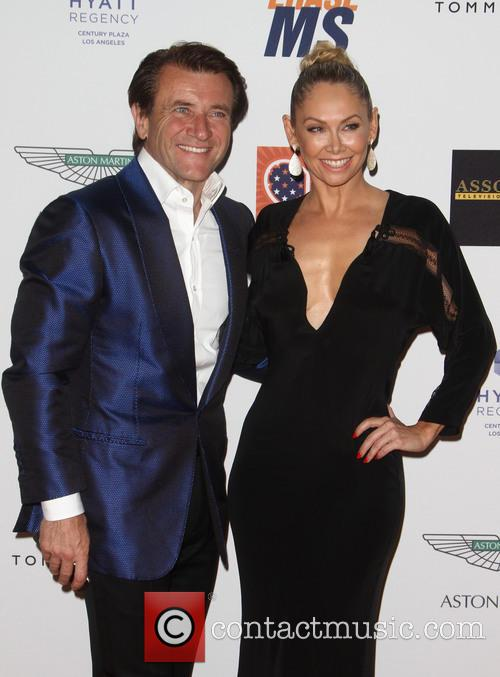 Robert Herjavec and Kym Johnson 1