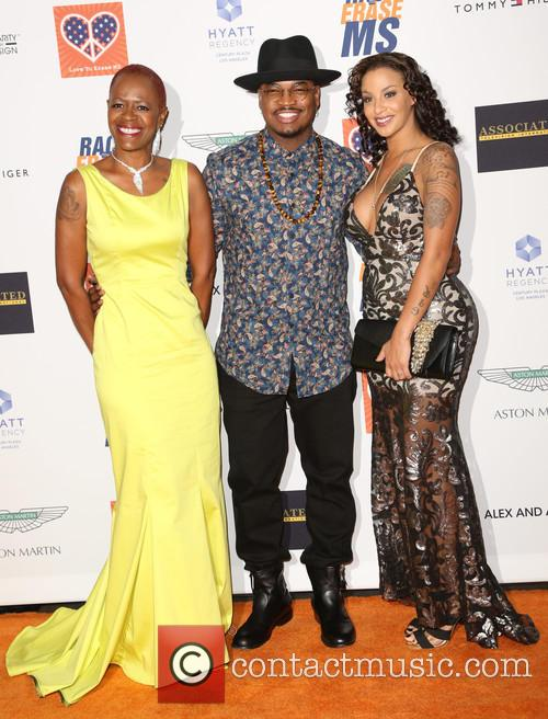 Loraine Smith, Ne-yo and Monyetta Shaw 2