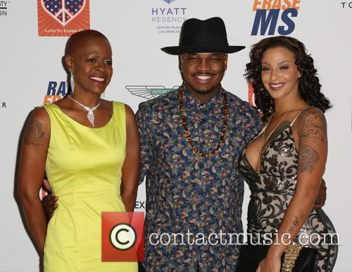 Loraine Smith, Ne-yo and Monyetta Shaw 1