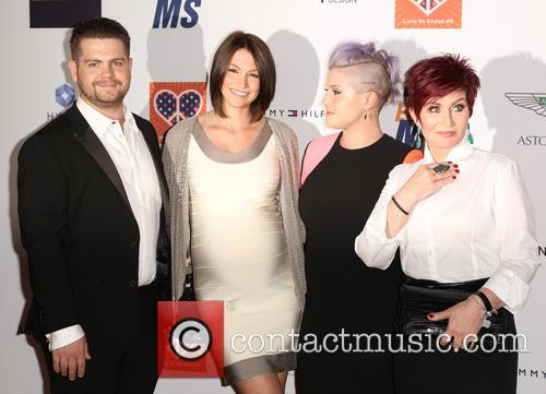 Jack Osbourne, Lisa Stelly, Kelly Osbourne and Sharon Osbourne 3