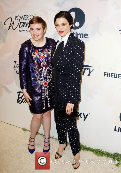 Lena Dunham and Rachel Weisz 5