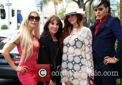 Frenchy Morgan, Kate Linder, Phoebe Price and Sham Ibrahim 2