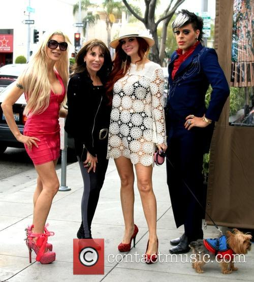 Frenchy Morgan, Kate Linder, Phoebe Price and Sham Ibrahim 5