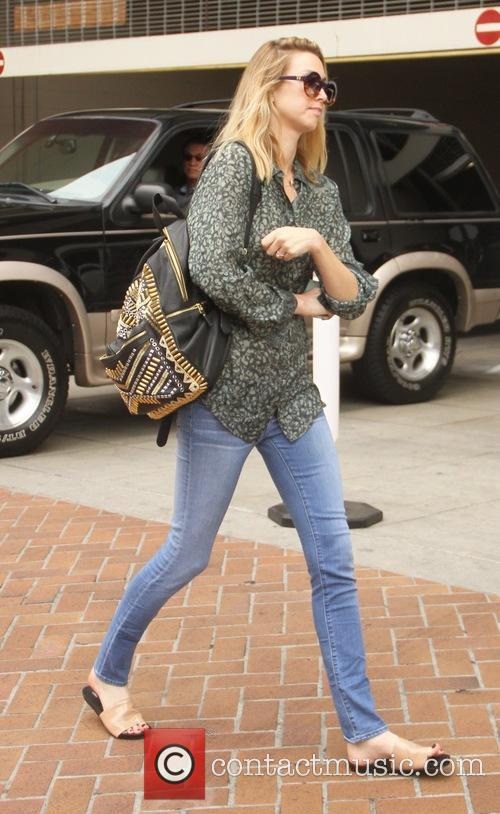 Whitney Port walking in Beverly Hills