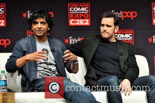 M. Night Shyamalan and Matt Dillon 5