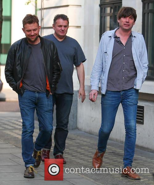 Blur, Damon Albarn and Alex James 7