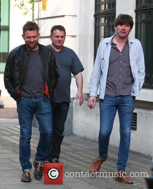 Blur, Damon Albarn and Alex James 8