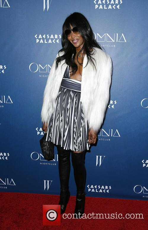 Naomi Campbell at Omnia Nightclub
