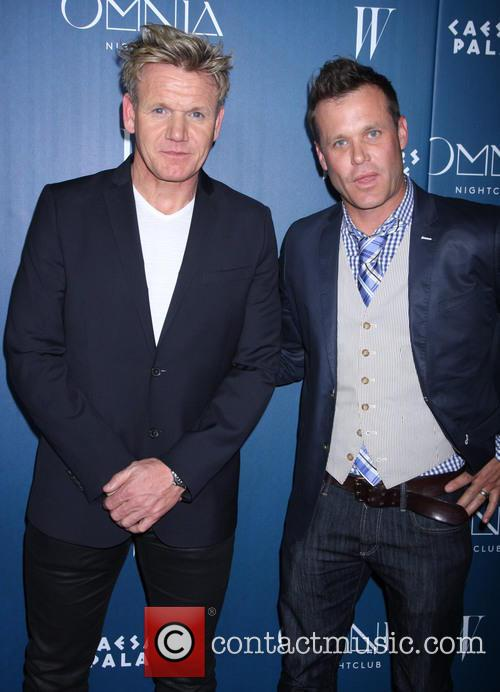Gordon Ramsay and Brian Malarkey 2