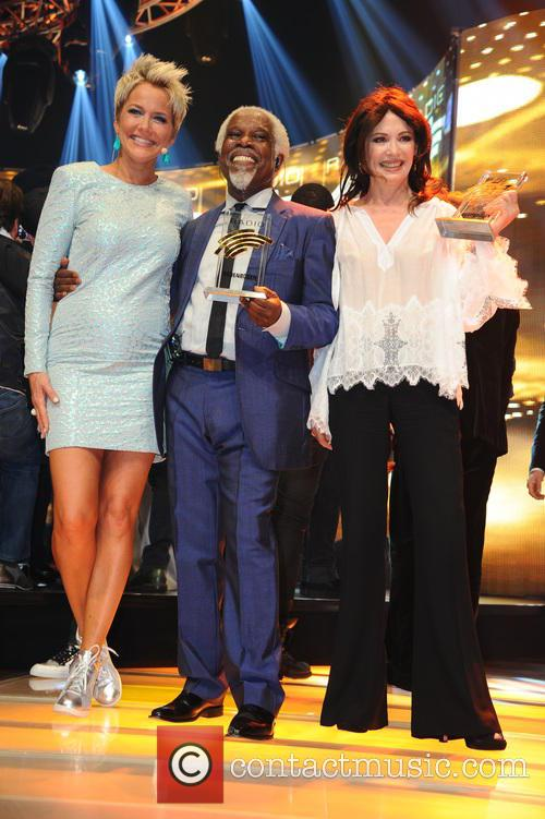 Inka Bause, Billy Ocean and Iris Berben 7