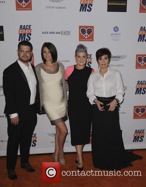 Kelly Osbourne, Sharon Osbourne, Jackson Osbourne and Lisa Stelly 10