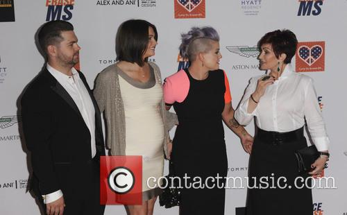 Kelly Osbourne, Sharon Osbourne, Jackson Osbourne and Lisa Stelly 11