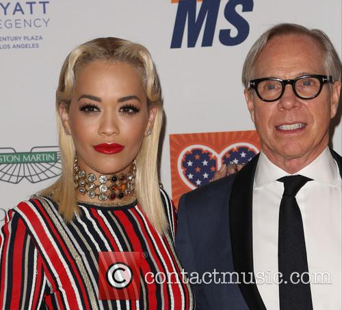 Rita Ora and Tommy Hilfiger 6