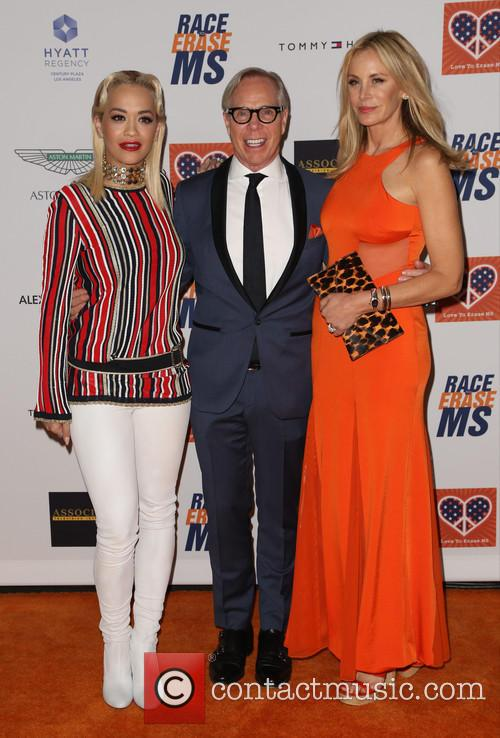 Rita Ora, Tommy Hilfiger and Dee Ocleppo 2