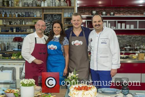 Horst Lichter, Christine Neubauer, Marc Bator and Johann Lafer 1
