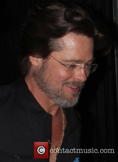 Brad Pitt leaves the annual Light Up The...