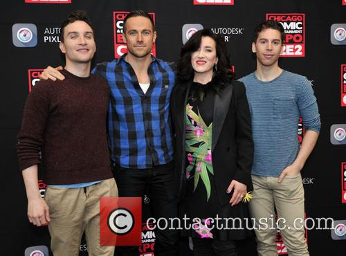 Ari Millen, Dylan Bruce, Maria Doyle Kennedy and Jordan Gavaris 2