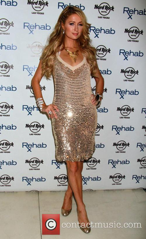 Paris Hilton kicks off Rehab Pool for the...