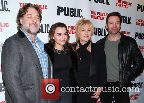 Russell Crowe, Samantha Barks, Deborra Lee Furness and Hugh Jackman 3