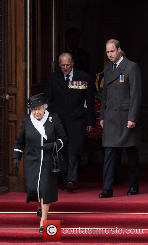 The Queen, The Duke Of Edinburgh, William and Duke Of Cambridge 2