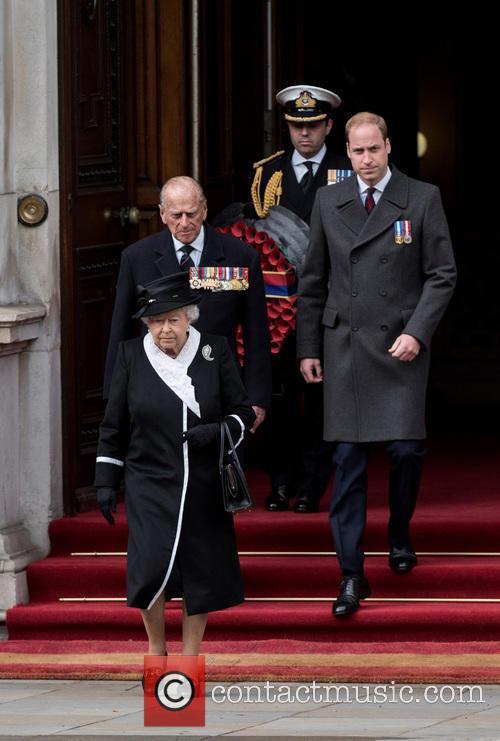 The Queen, The Duke Of Edinburgh, William and Duke Of Cambridge 3
