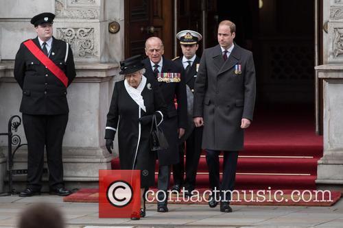 The Queen, The Duke Of Edinburgh, William and Duke Of Cambridge 4