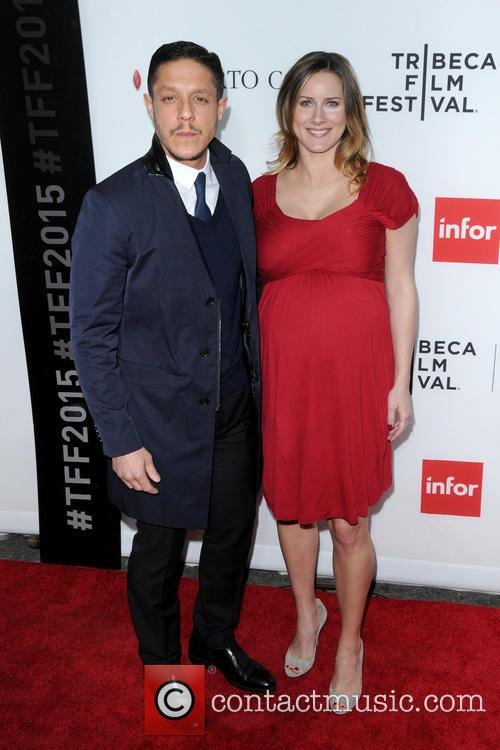 Theo Rossi and Meghan Mcdermott 2