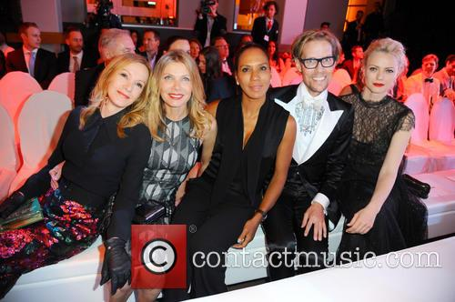 Katja Flint, Ursula Karven, Barbara Becker, Jens Hilbert and Franziska Knuppe 1