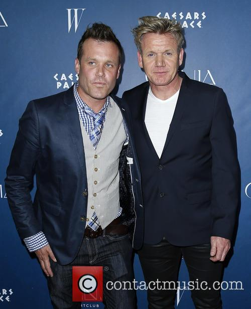 Brian Malarkey and Gordon Ramsay 2