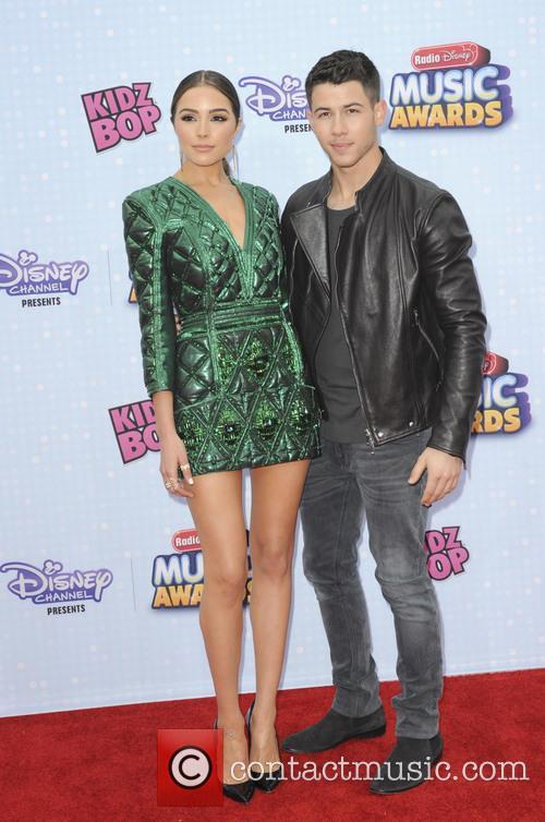 Nick Jonas and Olivia Culpo 3