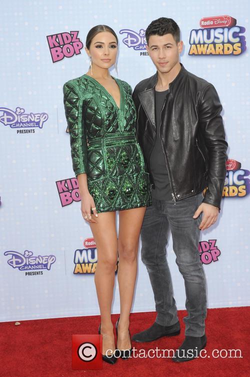 Nick Jonas and Olivia Culpo 1