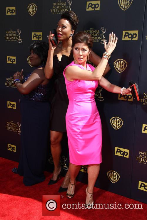 Sheryl Underwood, Aisha Tyler and Julie Chen 2