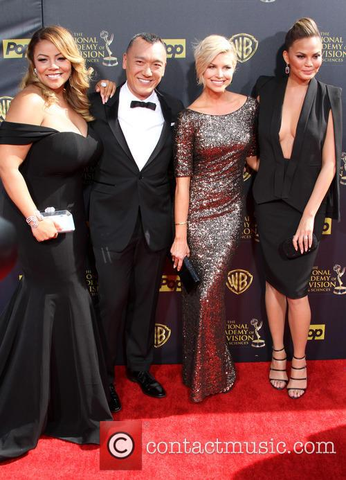 Lauren Makk, Joe Zee, Leah Ashley and Chrissy Teigen 2