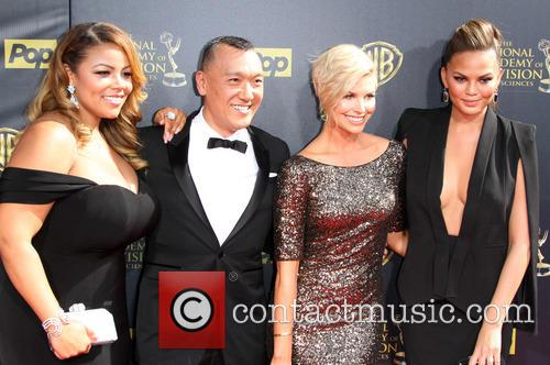 Lauren Makk, Joe Zee, Leah Ashley and Chrissy Teigen 3