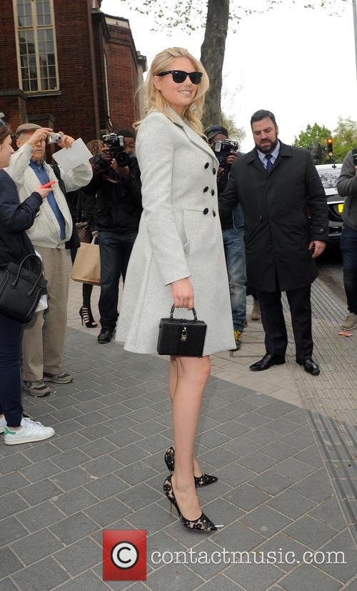 Kate Upton leaving the Vogue Festival